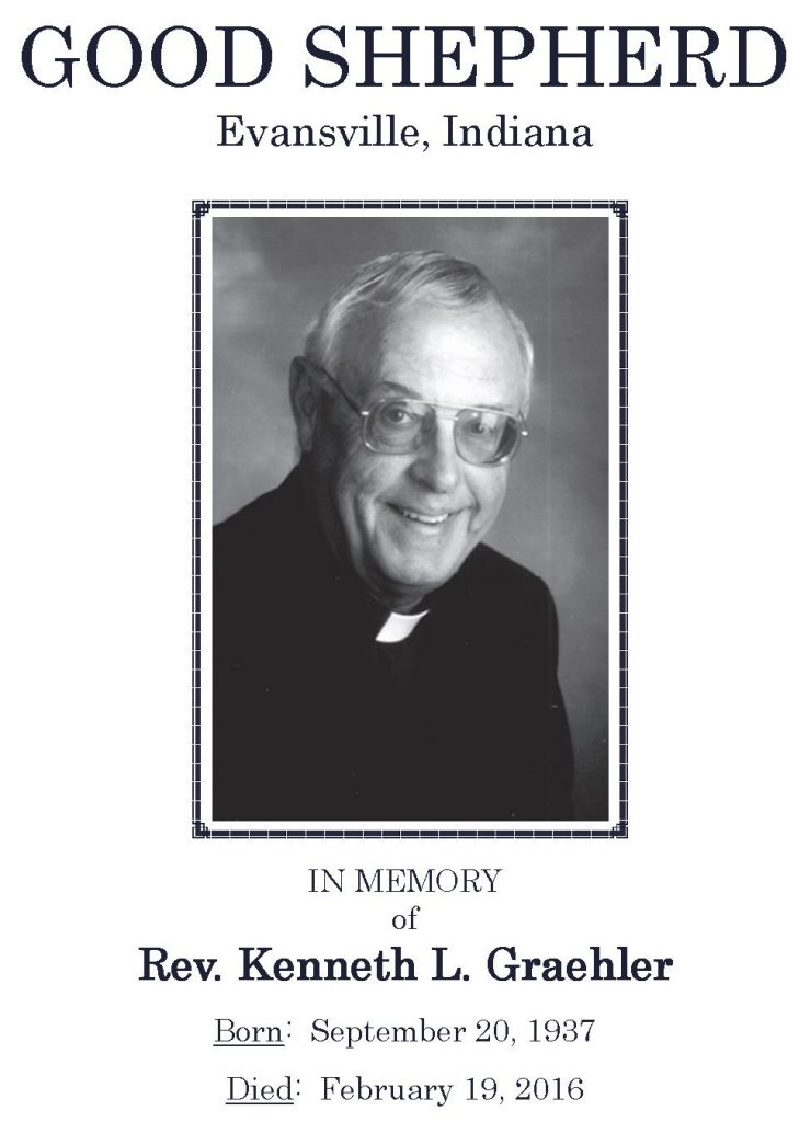2016-02-19 Funeral Picture [Rev Kenneth L Graehler]
