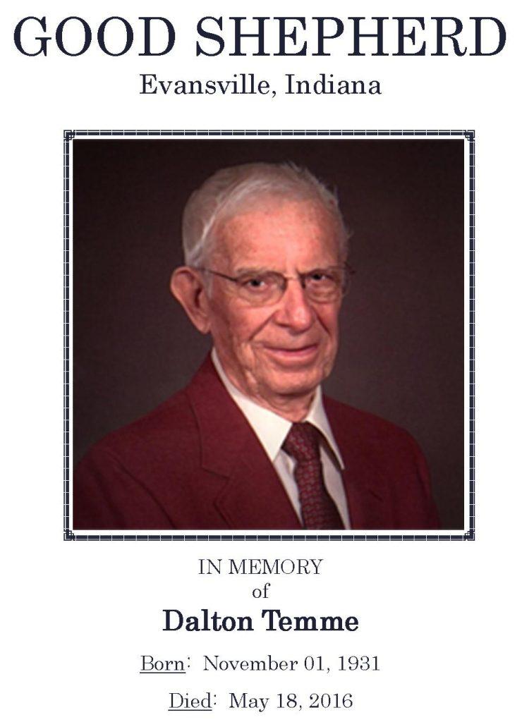2016-05-18 Funeral Picture [Dalton Temme] Narthex