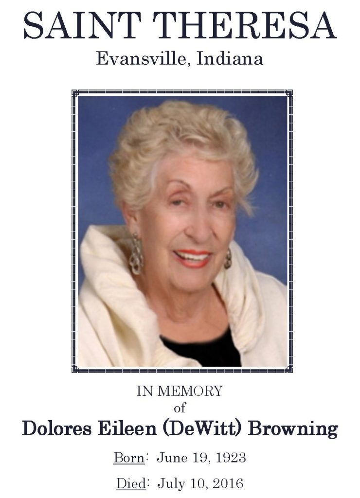 2016-07-10 Funeral Pic - Dolores Browning [Narthex Video]