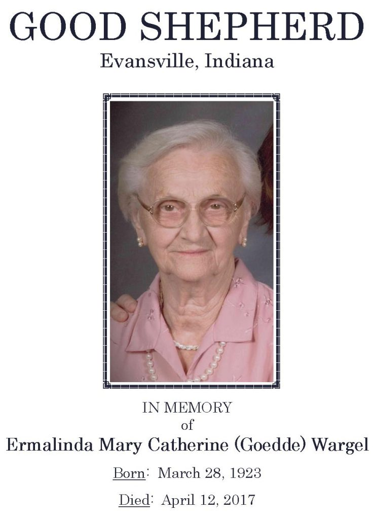 2017-04-12 Funeral Picture [Erma Wargel] Narthex Picture 02