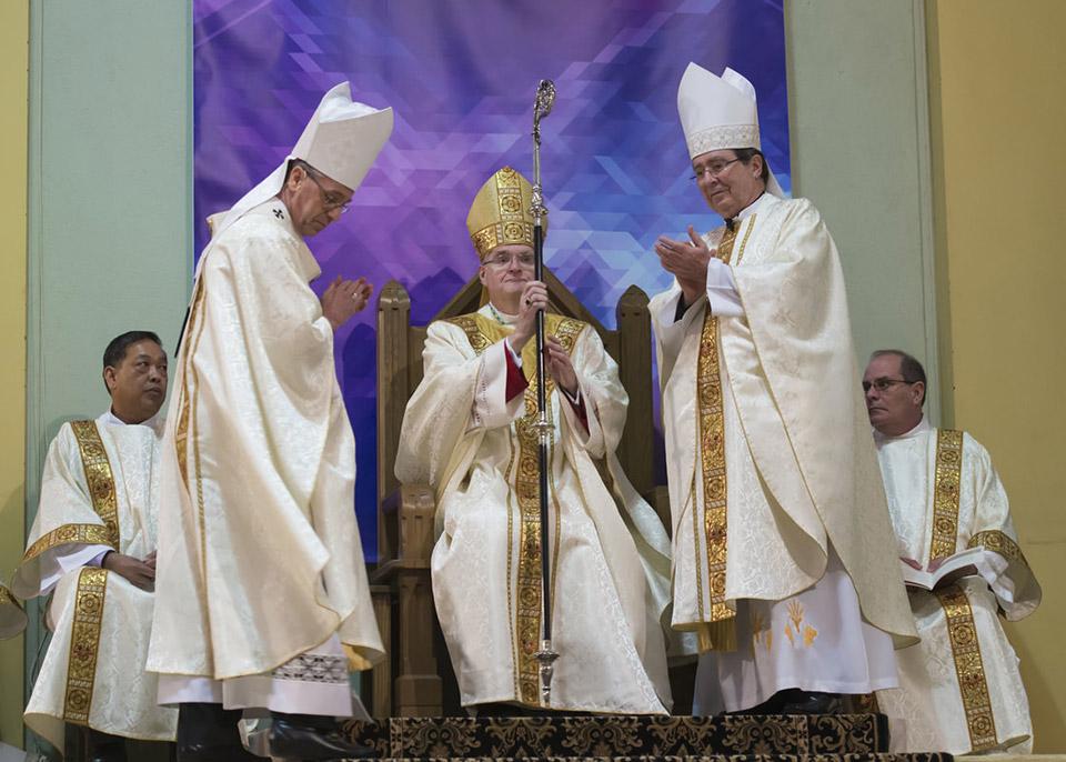 Bishop Siegel Installation